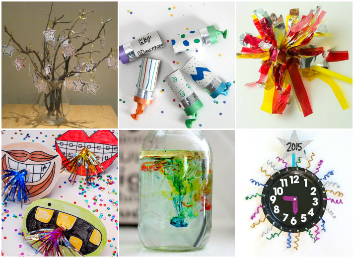 20 New Years Kids Crafts and Activities