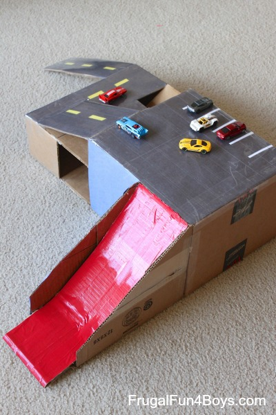 15 Super Fun Cardboard Box Projects For Kids I Heart Arts N Crafts