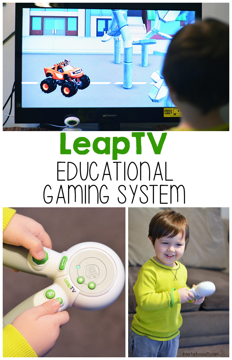 LeapFrog LeapTV - An educational gaming system for younger kids