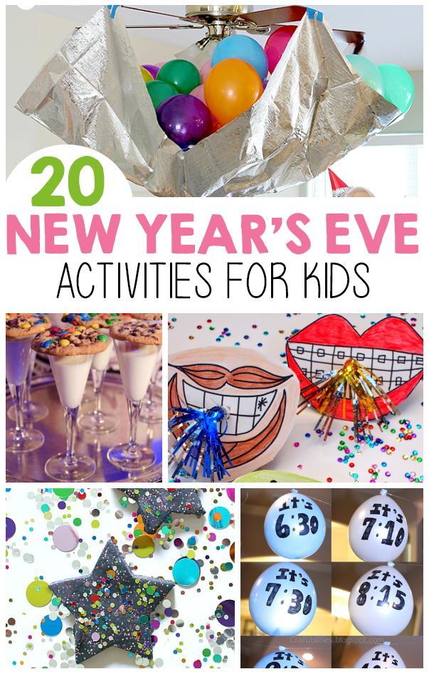 New Year's Eve Activities For Kids - I Heart Arts n Crafts