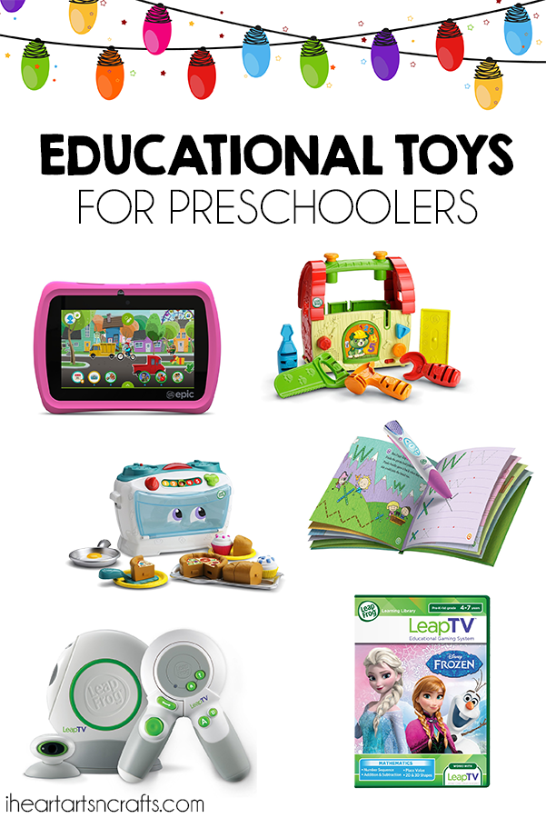 Gift Guide - Educational Toys For Preschoolers