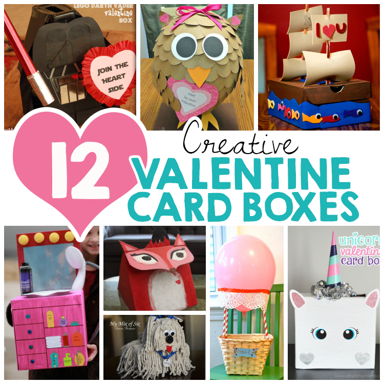 12 Creative Valentine Card Boxes