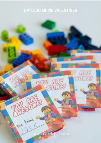 DIY LEGO Movie Valentines
