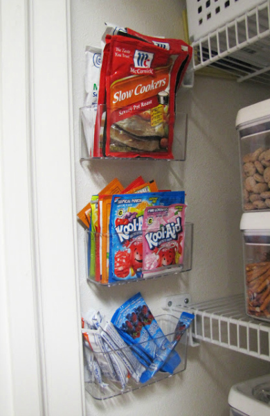 Pantry Caddy Organization