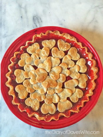 Valentine Cherry Pie