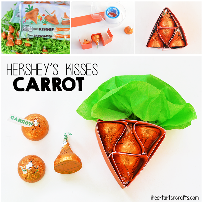How To Make A Hershey's Kisses Carrot Treat For Easter!