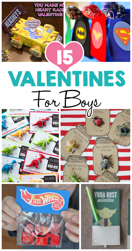 15 Valentine Ideas For Boys