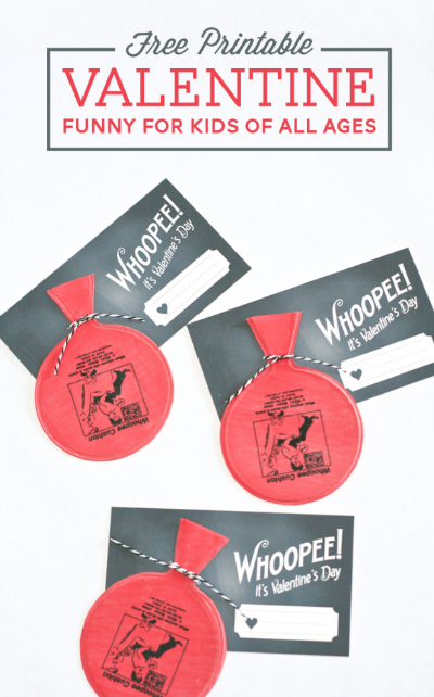 Whoopee Cushion Valentines