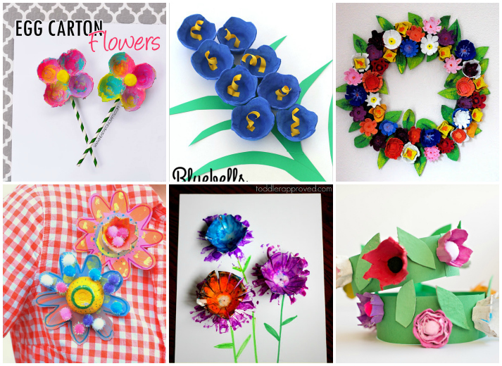 15 flower crafts for kids i heart arts n crafts 15 diy flower crafts for kids mightylinksfo Choice Image