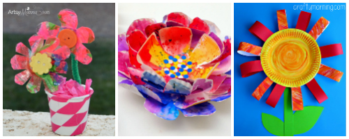 15 flower crafts for kids i heart arts n crafts 15 easy and fun diy flower crafts for kids mightylinksfo Choice Image