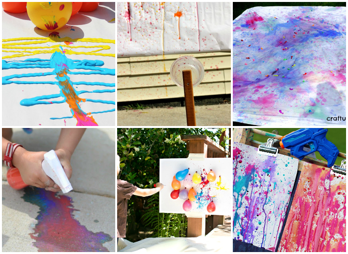 Outdoor Art Projects For Kids I Heart Arts N Crafts