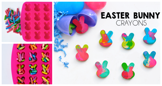 How To Make Easter Bunny Crayons
