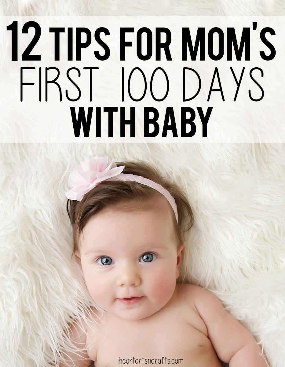 Tips For First 100 Days With Baby & Giveaway