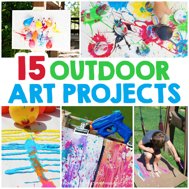 Outdoor Art Projects For Kids