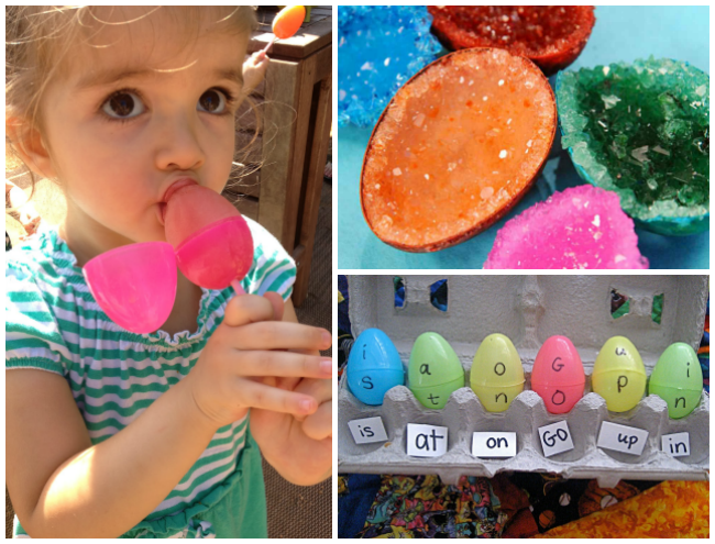 18 Plastic Easter Egg Crafts And Activities I Heart Arts N Crafts