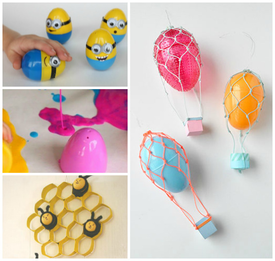 18 Plastic Easter Egg Crafts And Activities I Heart Arts N