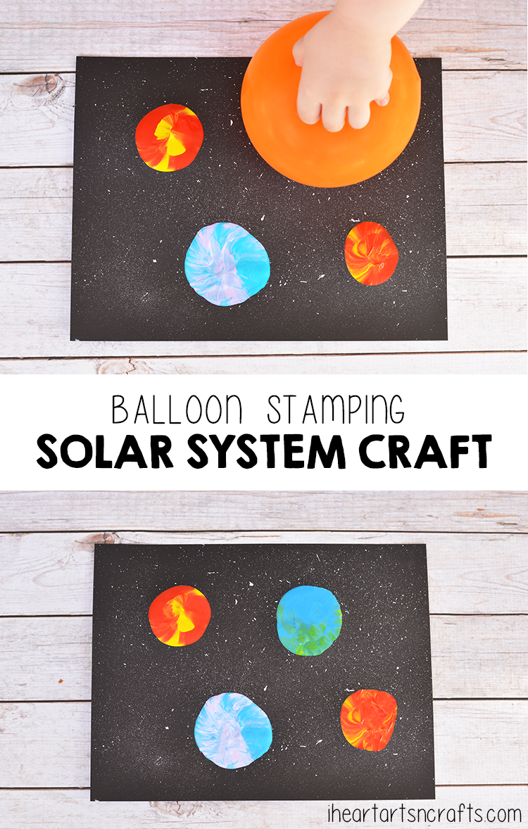 easy solar system craft printable - photo #21
