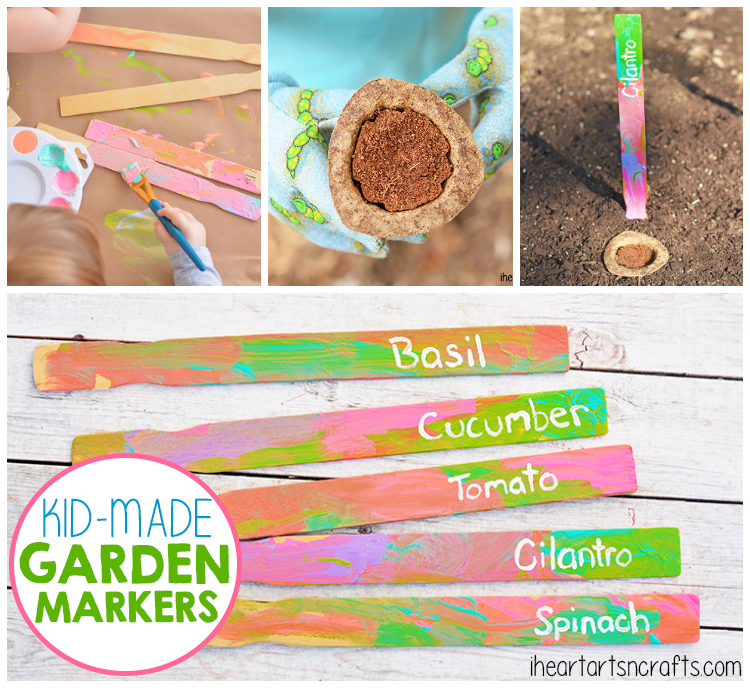 Gardening With Kids: Kid-Made Garden Markers