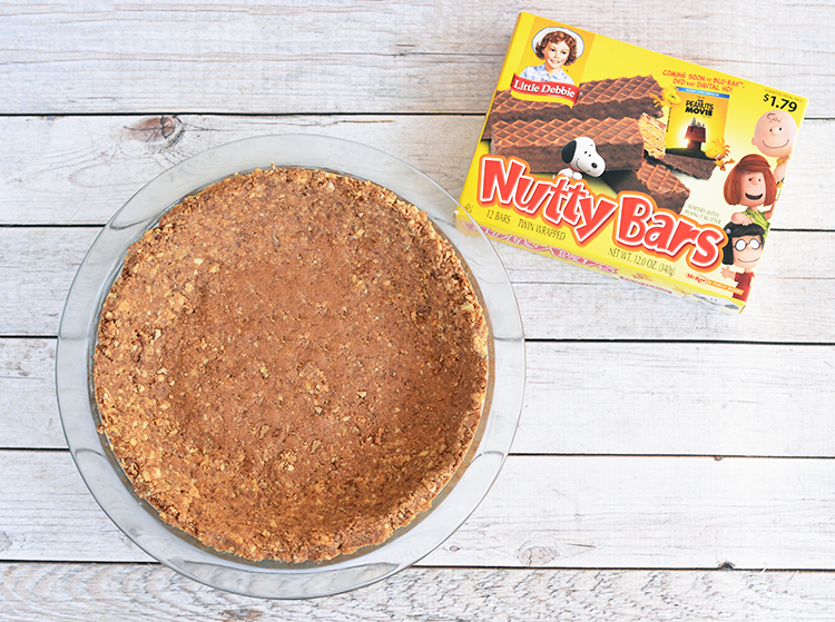Nutty Bar Pie Crust