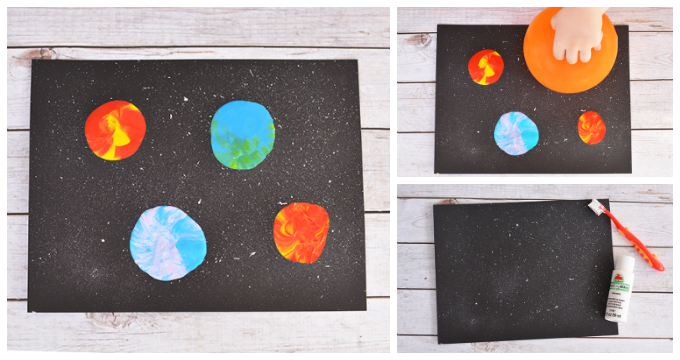 easy solar system craft printable - photo #33