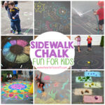 12 Super Fun Ways To Play With Sidewalk Chalk