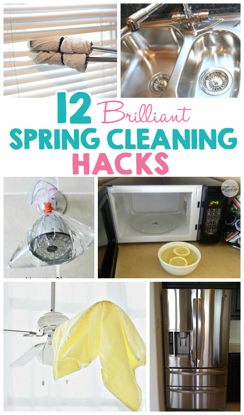 12 Brilliant Spring Cleaning Hacks