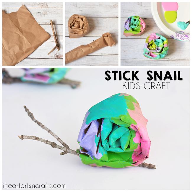 Stick Snail Craft For Kids I Heart Arts N Crafts