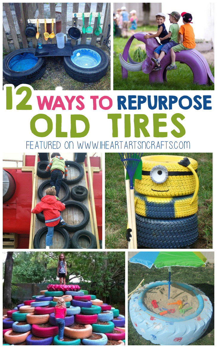 12 Creative Ways To Repurpose Old Tires
