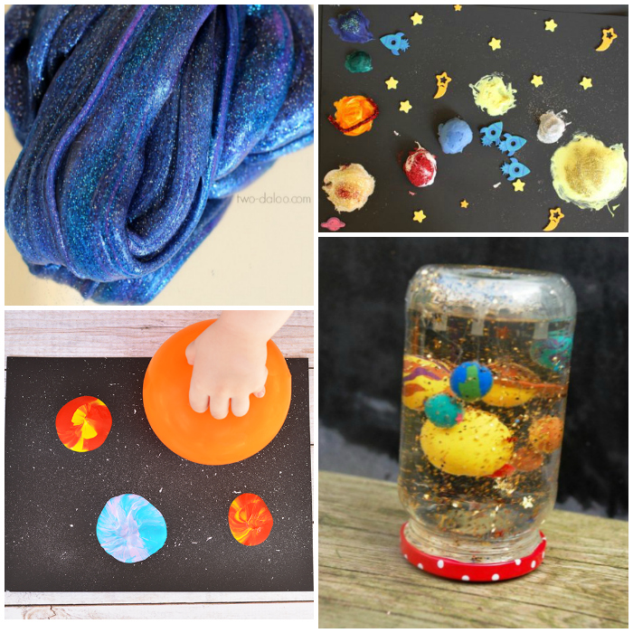 12 Outerspace Kids Crafts