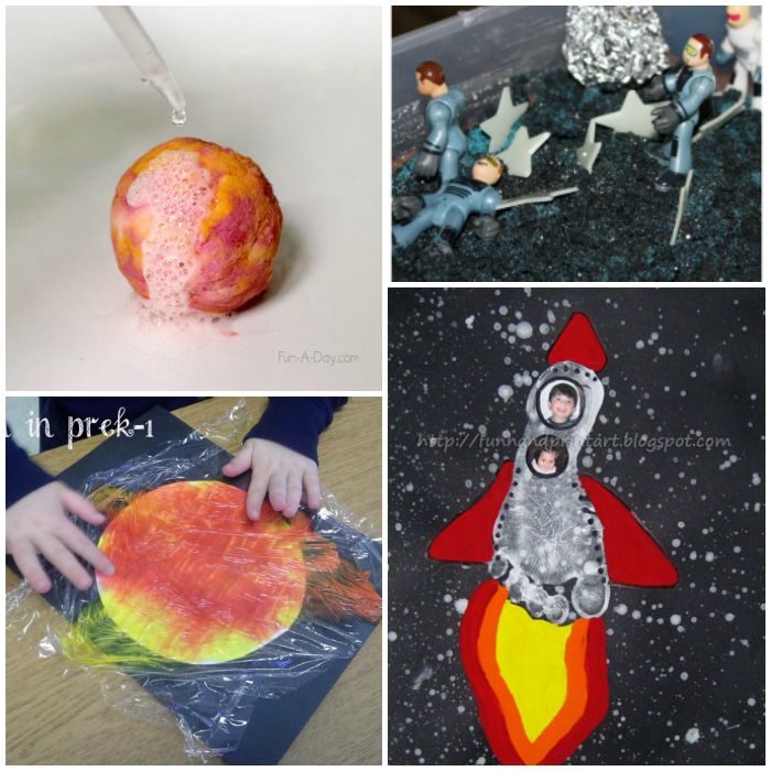 20 Easy Outerspace Kids Crafts And Experiments