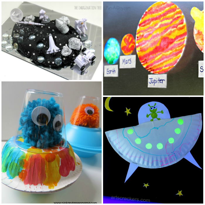 space craft ideas for preschoolers 20 outer space crafts for i arts n crafts 7168
