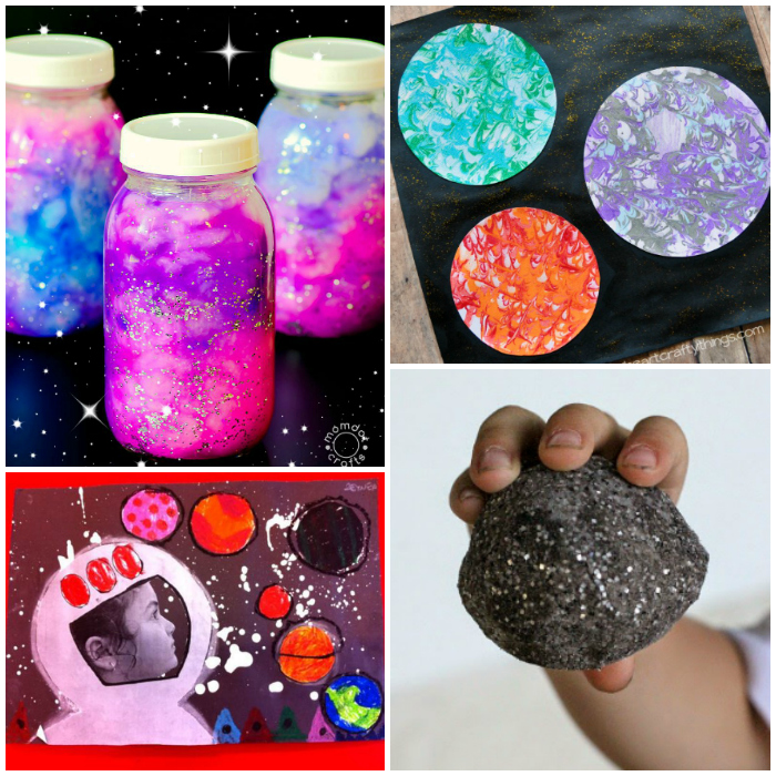 20 Easy and Fun Space Crafts for Kids