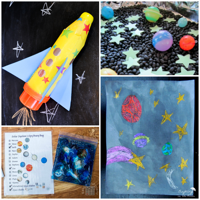 20 Outerspace Crafts for Kids