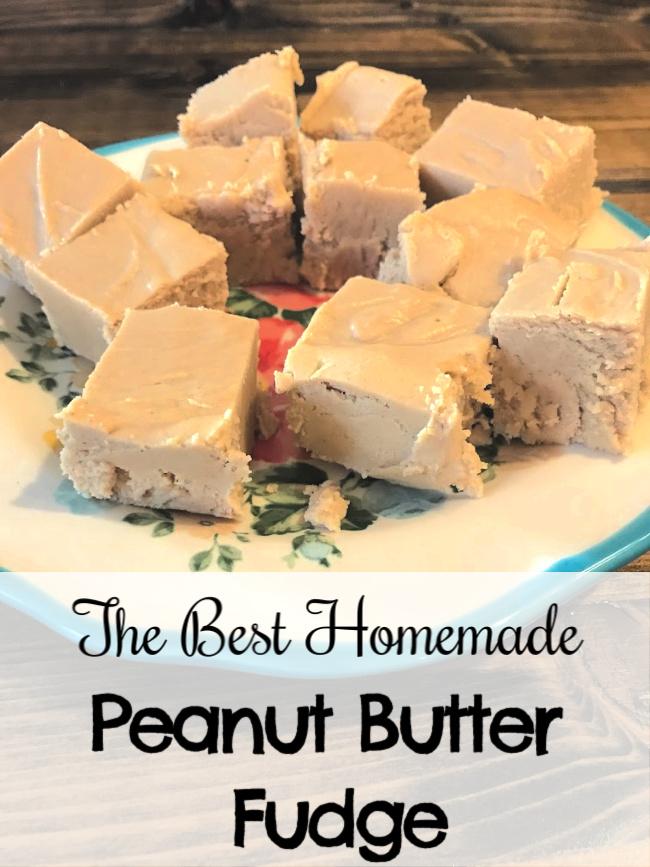 Easy Homemade Peanut Butter Fudge Recipe