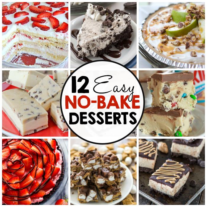 12 easy no bake desserts i arts n crafts