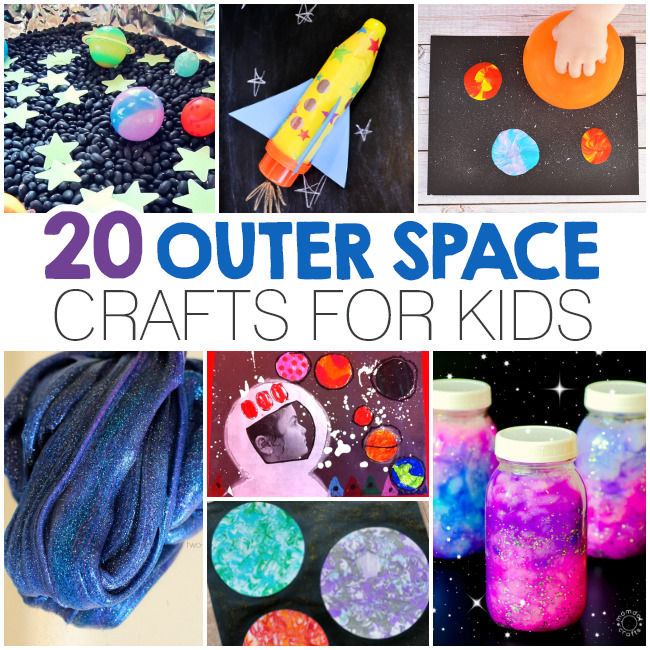 20 Outer Space Crafts For Kids