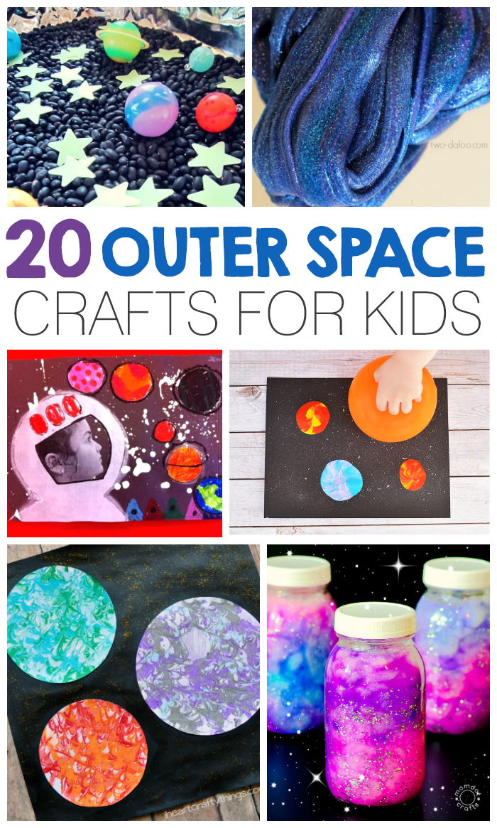 craft ideas for space theme 20 outer space crafts for i arts n crafts 6236