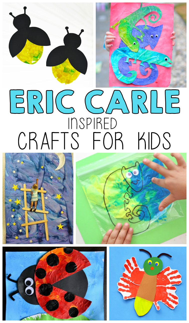 Eric carle inspired crafts for kids i heart arts n crafts for Art n craft for toddlers