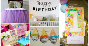 Creative Ideas For Baby's First Birthday