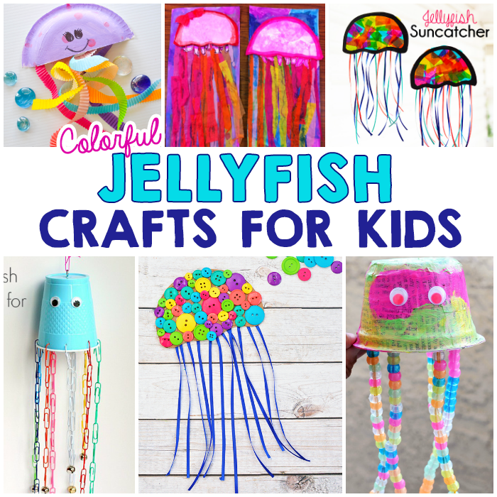Colorful Jellyfish Crafts For Kids I Heart Arts N Crafts