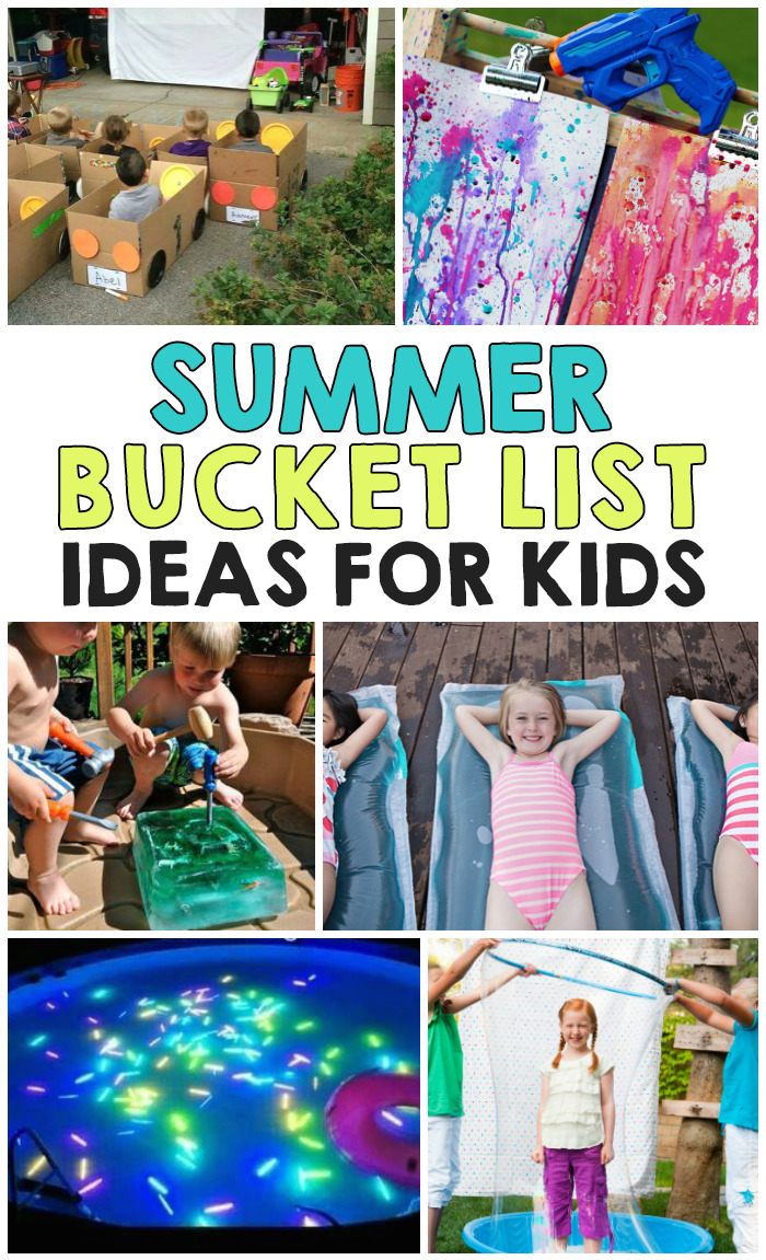 Fun Kids Bucket List Activities For Summer