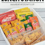 Back To School Lunchbox Station