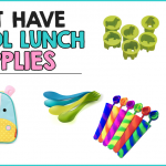 Must Have School Lunch Supplies