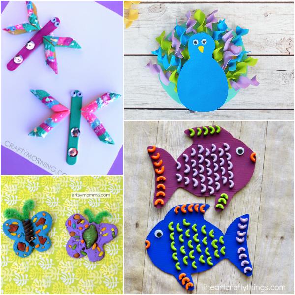 Creative Pasta Crafts For Kids