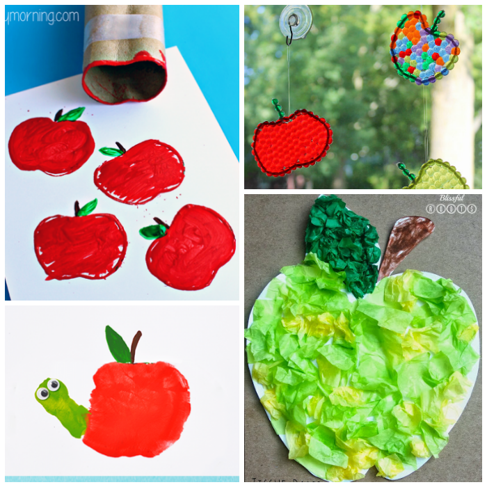 10 Creative Apple Crafts For Kids To Make I Heart Arts N Crafts