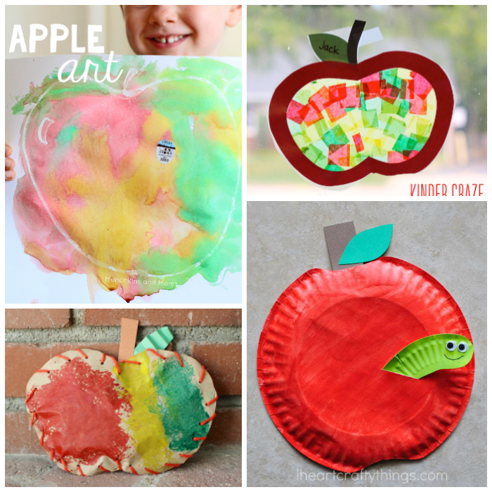10 Creative Apple Crafts For Kids To Make