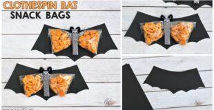 Clothespin Bat Preschool Snack