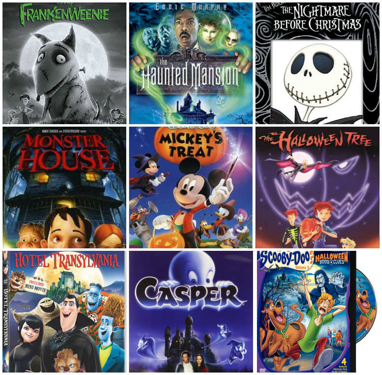 The Best Halloween Movies For Kids! - I Heart Arts n Crafts