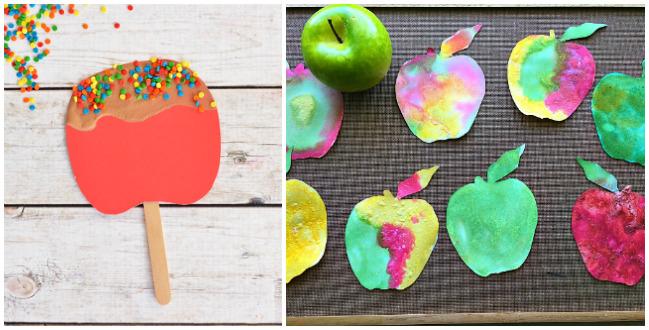 Prek Apple Crafts