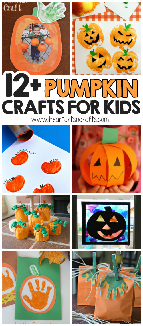 12+ Pumpkin Crafts For Kids